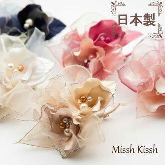日本製 ドレープの花びらが優しいエレガントコサージュ 卒園式 卒業式 コサージュ 入園式 入学式 謝恩会 結婚式 二次会 成人式 浴衣 フォーマル 髪飾り