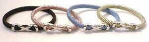 【送料無料】 2WAY静電気除去ブレスレットAタイプ 静電気除去防止(除電)ブレスレット ブラック/ピンク (M/L) 静電気除去アクセサリー B3バランス 静電気対策グッズ