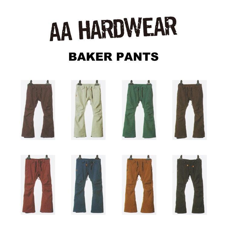 【即納】16-17 AA HARDWEAR(ダブルエーハードウェア)BAKER PANTS / [SALE 45%OFF]【送料無料】【代引き手数料無料】