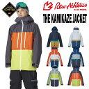 【予約】21-22 REW (アールイーダブリュー) THE KAMIKAZE JACKET (カミカゼジャッケット) [GORE-TEX] / 早期予約割引5…