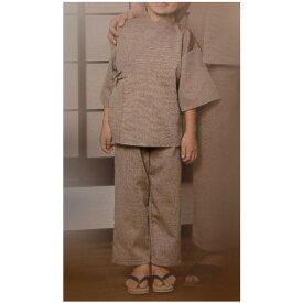 【子供用】リネン対応 館内着 作務衣