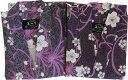日本製 桜に乱菊(さくらにらんぎく)旅館浴衣【業務用】【訳あり】