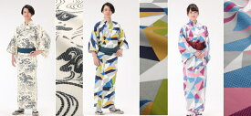【浴衣と帯のセット】日本製 遠州織物 旅館浴衣【業務用】