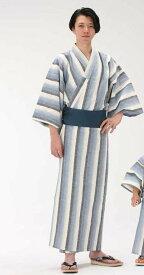 【浴衣と帯のセット】遠州綿紬 日本製 富士(ふじ)旅館浴衣【業務用】