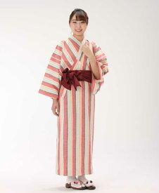 【浴衣と帯のセット】遠州綿紬 日本製 ソレイユ 旅館浴衣【業務用】