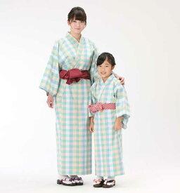 【浴衣と帯のセット】遠州綿紬 日本製 木苺(きいちご)旅館浴衣【業務用】
