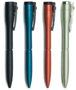 シャチハタネームペン キャップレスエクセレント カラータイプ軸のみです。ネーム印はセットされていません。