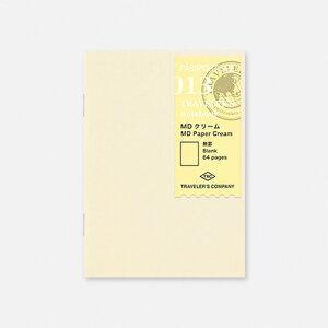 TRAVELER'S notebook MDクリーム  MD Paper Creamトラベラーズノート パスポートサイズ用 【013】