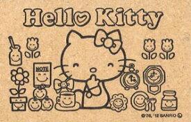 【アウトレット品】サンリオ ぬりえスタンプ ハローキティ サンビー ゴム印  Hello Kitty