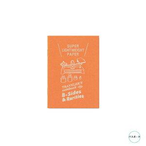 TRAVELER'S notebook Super Lightweight Paper 超軽量紙 パスポートサイズトラベラーズノート リフィル B-Sides & Rarities 限定商品