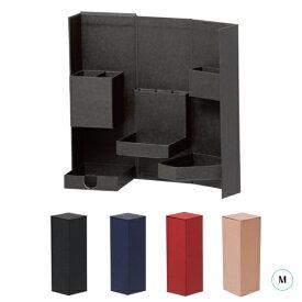ナカバヤシ ライフスタイルツールボックス Mブラック ネイビー ワインレッド クラフト紙箱 整理用品 デスク収納