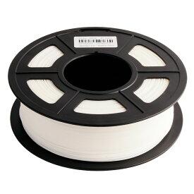 3Dプリンターフィラメント PLA Plus (PLA+)樹脂 1.75mm ホワイト(白) 【沖縄・離島 お届け不可】
