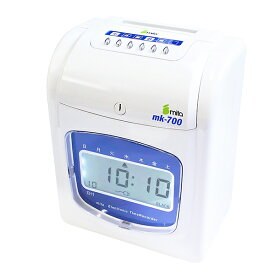 mita 電子タイムレコーダー MK-700 (タイムカード50枚付き) 【沖縄・離島 お届け不可】