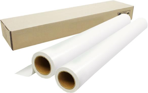 【2本セット】インクジェットロール紙 吸着合成紙幅515mm(B2)×長さ20m