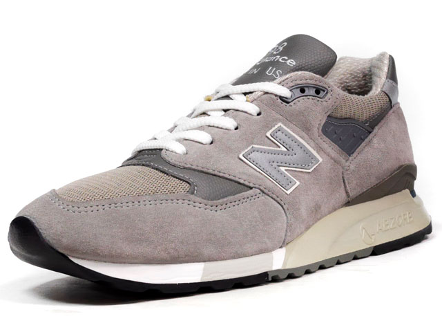 "new balance [ニューバランス] M998 ""made in U.S.A."" ""LIMITED EDITION"" GY (M998 GY)"