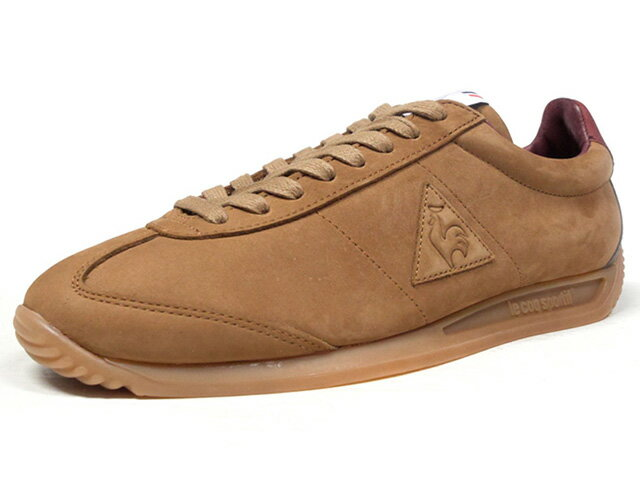 "le coq sportif [ルコックスポルティフ クオーツレザーマロキネリ メイドインフランス] QUARTZ LEA MAROQUINERIE ""made in FRANCE"" ""MAROQUINERIE PACK"" ""LIMITED EDITION for Le CLUB"" BRN/BGD/C.GRY/GUM (1720309)"