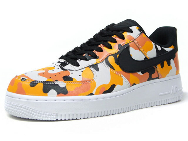 "NIKE [ナイキ エアフォース107エレベート カモパック アイコンリミテッドエディション] AIR FORCE 1 07 LV8 ""CAMO PACK"" ""LIMITED EDITION for ICONS"" ORG/BLK/CAMO/WHT (823511-800)"