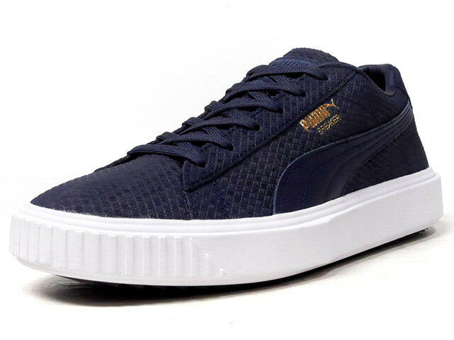 "Puma [プーマ ブレーカースウェード プライムリミテッドエディション] BREAKER SUEDE ""LIMITED EDITION for PRIME"" NVY/WHT (366077-04)"