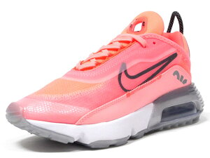 NIKE [ナイキ ウィメンズエアマックス2090] (WMNS) AIR MAX 2090 LAVA GLOW/BLACK/FLASH CRIMSON/VAPER GREEN/ICE/METALLIC SILVER (CT7698-600)