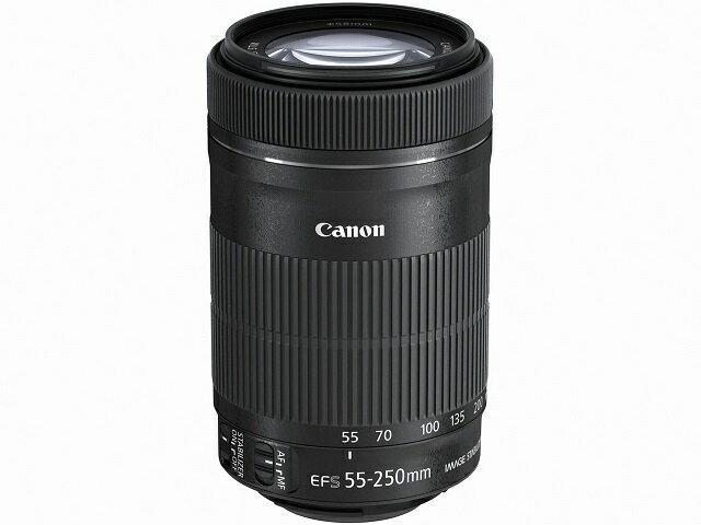 【在庫即納・送料無料!(沖縄、離島除く)】 CANON EF-S55-250mm F4-5.6 IS STM (新品、白箱、メーカ-保証書付)【送料無料】【smtb-u】【kk9n0d18p】