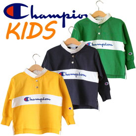 Champion チャンピオン kids キッズ 子供服 男の子 女の子 長袖 Tシャツ CS6220