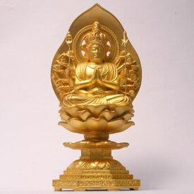 純金メッキ 仏像 千手菩薩 座像