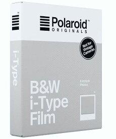 【アウトレット】【メール便発送】Polaroid ORIGINAL i-Type モノクロフィルム ポラロイドオリジナル B&W Film 白黒ポラロイドフィルム[02P05Nov16]