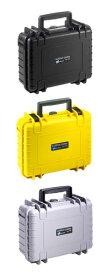 B&W TYPE1000(ブラック/イエロー/シルバー)格子状カットスポンジタイプ OUTDOOR CASE SERIES保護ケース[ミラーレス一眼、コンパクトカメラなどを保護・保管できる小型保護ケース。][02P05Nov16]