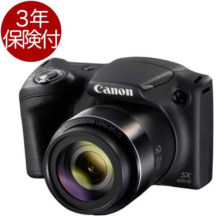 [3年保険付き] Canon PowerShot SX430 IS 高倍率ズーム搭載コンパクトデジカメ『即納〜2営業日後の発送』【smtb-TK】[fs04gm][02P05Nov16]
