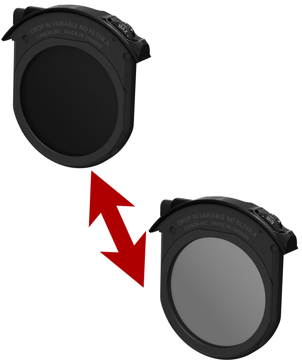 キヤノン ドロップイン可変式NDフィルターA 光量調整用フィルター