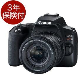 [3年保険付]キヤノン EOS Kiss X10(ブラック)・EF-S18-55 IS STM レンズキット イオスキスX10デジタル一眼レフボディー + Canon EF-S18-55mm F4-5.6 IS STM レンズセット [02P05Nov16]