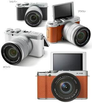 """富士胶片 X-A2 镜头套装""""销售将预订 2/2015年 26' 富士 X A 2 + 超级 EBC XC16-50mmF3.5-5.6 OIS II 标准变焦镜头套 [fs04gm] [02P15Feb15]"""