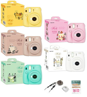 """Fujifilm instax mini 8 + cheki 8 plus Instant camera """"stock ~ 3 business days after shipping, cheki after taking the photos coming soon, every day is more fun! [fs04gm] [02P05Nov16]"""