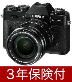 [附帶液晶膠卷]沒有附帶FUJIFILM X-T20/XF18-55mmF2.8-4 R LM OIS透鏡配套元件黑色