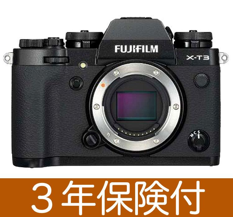 Fujifilm X-T3 ミラーレス一眼デジタルカメラ ブラックボディー『2018年9月20日発売』[富士フィルム X-T3 Black Body Kit] [02P05Nov16]