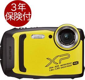 [3年保険付] Fujifilm FinePix XP140 イエロー 水深25m防水・耐衝撃・耐寒・防塵アウトドアデジタルカメラ[02P05Nov16]
