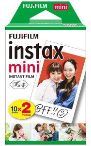Fuji Instax mini チェキフィルム2本入り 4547410377231[02P05Nov16]