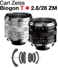 Carl Zeiss Biogon T*F2.8/28mm ZM Mount Lens『即納〜納期未定予約』ライカMマウントビオゴン広角レンズ【RCP】[fs04gm][02P05Nov16]
