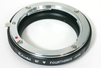 """(OLYMPUS/Panasonic) four-thirds modern international Nikon f-mount adapter """"1 to 3 business days after shipping,"""
