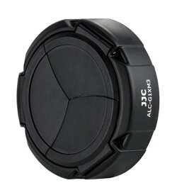 JJC ALC-G1XM3 オートレンズキャップ[メール便で送料無料-2][Canon PowerShot G1X MarkIII専用オートレンズキャップ]自動開閉レンズキャップ[02P05Nov16]