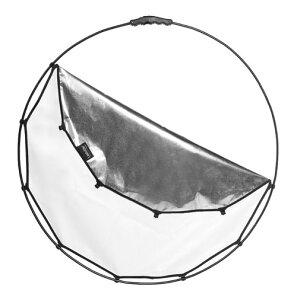 Lastolite ハロコンパクト リフレクター82cm シルバー/ ホワイト LL LR3300 フレーム付きディフューザー【smtb-TK】[02P05Nov16]