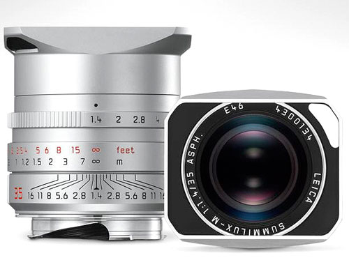 Leica New SUMMILUX-M f1.4/35mm ASPH. (6bit) Silver #11675『3〜4営業日後の発送』ズミルックス-M f1.4/35mmシルバー色【RCP】【smtb-TK】[fs04gm][02P05Nov16]