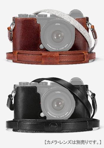 Leica CL用レザープロテクター ビンテージデザイン ブラウン#19525/ブラック#19524【RCP】[fs04gm][02P05Nov16]