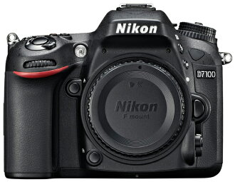 "D7100 Nikon Nikon digital SLR body only ""quick delivery-2 business days after shipping,"