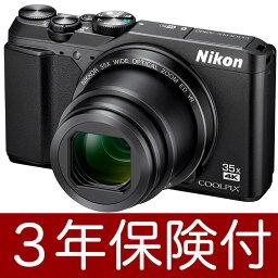 """Nikon COOLPIX A900黑色小型數位相機""""立即交納~2營業日之後的發送""""手掌尺寸的光學35倍的變焦距鏡頭數位相機黑[fs04gm][02P05Nov16]"""