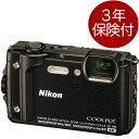 [3年保険付] Nikon COOLPIX W300 デジタルカメラ 防水・耐衝撃・耐寒・防塵タフデジカメ ブラック[02P05Nov16]
