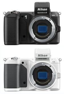 """Nikon 1 V 2 body only nikondigitalmirales SLR """"delivery ~ 3 business days after delivery will ' compact, lightweight next generation premium camera (black/white) you can cut the moment [02P05Nov16]"""