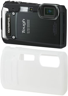 "OLYMPUS Tough TG-820 floor Kit digital camera construction site with CSCH-102 ""1 ~ 2 business days after shipping, silicone jacket, sea, mountains, skiing, which can be used to activate waterproof digital camera! Stand 10 m deep, resistant to dust, shock"