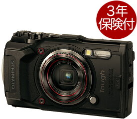 [3年保険付] OLYMPUS TOUGH TG-6 BLK 耐衝撃&防水タフコンパクトデジタルカメラブラック[02P05Nov16]