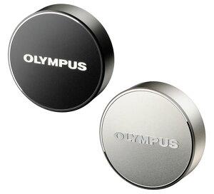 OLYMPUS LC-61 金属製レンズキャップ (シルバー/ブラック) [マイクロフォーサーズ規格「M.ZUIKO DIGITAL ED 75mm F1.8」専用の金属製レンズキャップ。][02P05Nov16]